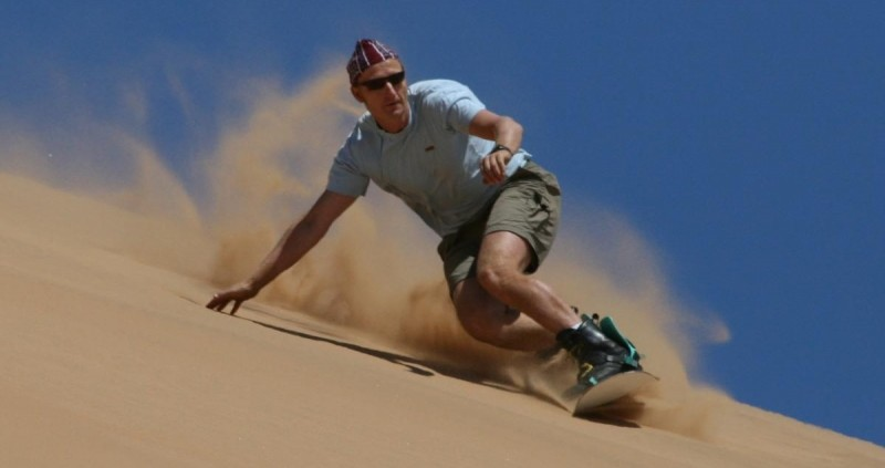 Dune Adventuring in Iran