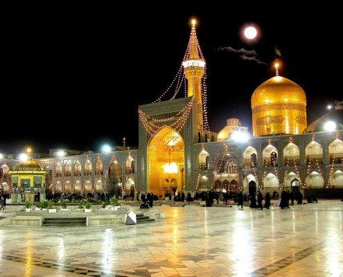 Tours to Iran- Imam Reza Shrine