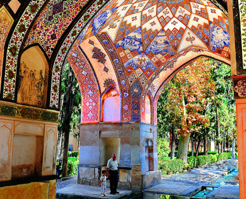 Travel in Iran-fin garden