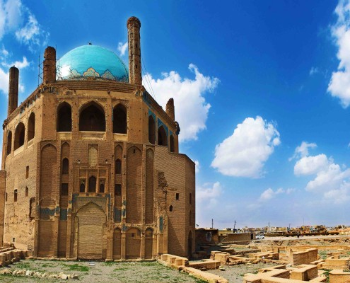 Tours to Iran-Sultanieh