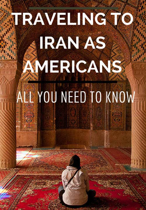 Travel to Iran as a U.S, U.K, or Canadian Citizen