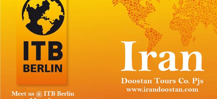 Iran Doostan will attend the ITB Berlin