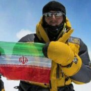 Azim gheichisaz on Everest 2016