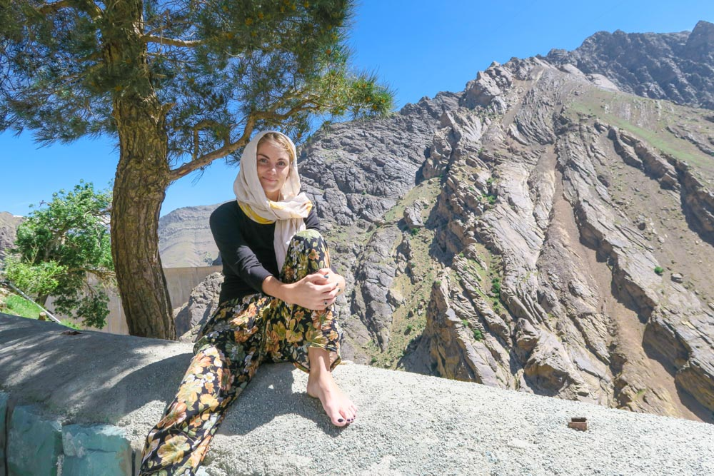 Evelina is a Swedish female solo traveler who has visited Iran