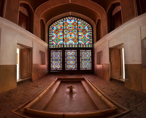 Dowlatabad garden is the architectural jewel of Yazd