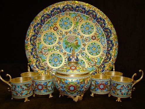 Iranian Metalwork Is Splendid Souvenir for Travelers to Iran