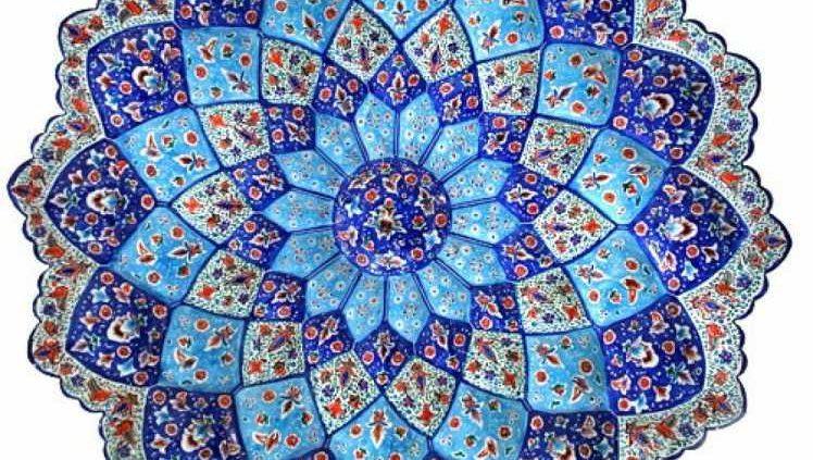 Minakari or Enameling, the glorious Iranian handicraft