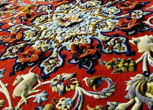 Persian Carpet is the Narrator of Iranian Art and Cultures