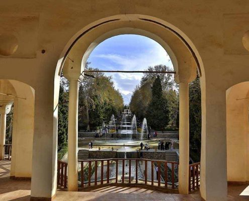 Shazdeh Garden a green oasis lying in the heart of the desert