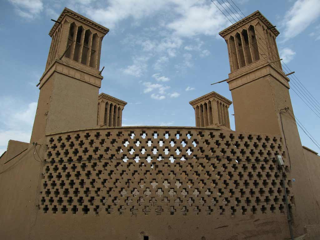 Yazd the city of wind catchers