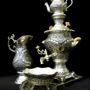 Qalamzani, the Iranian Ancient Metalwork Art