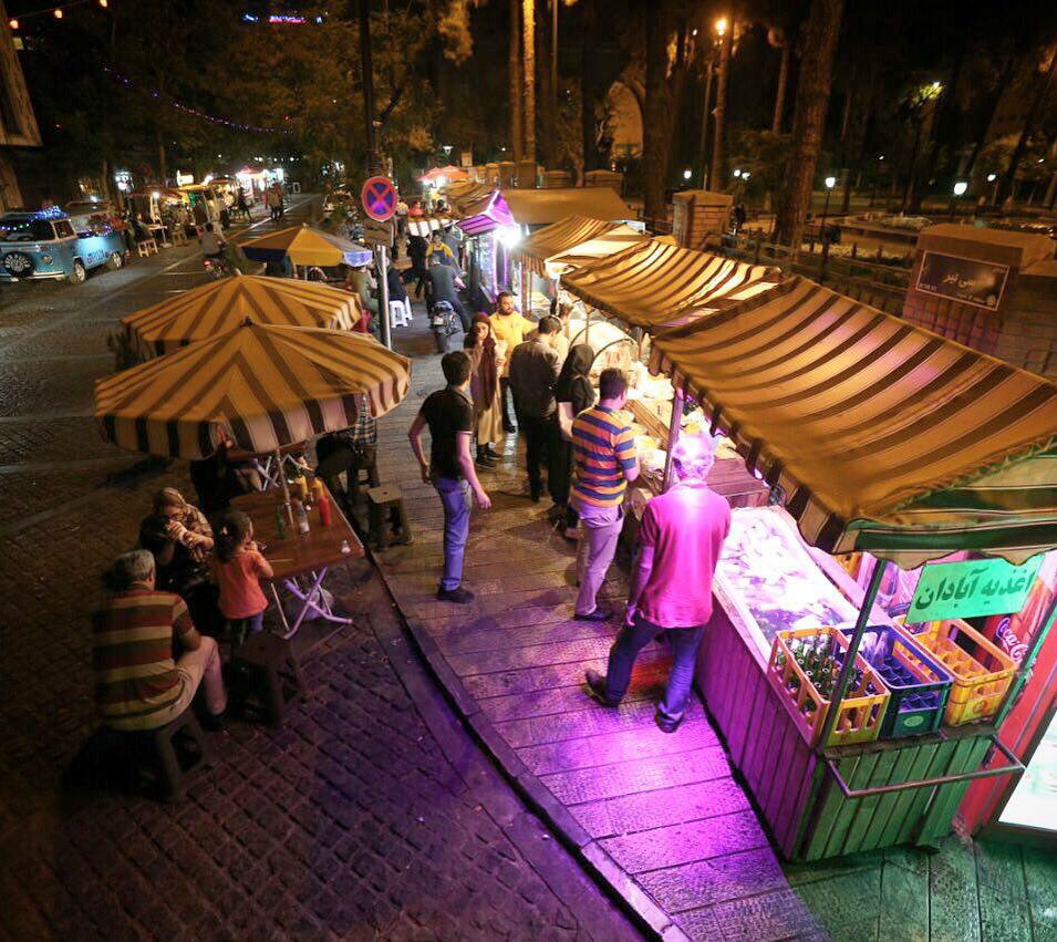 Delicious Nightlife in Iran