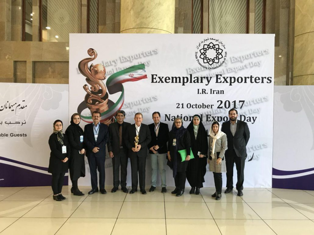 Iran Doostan Tours Co. the outstanding exporter in 2017