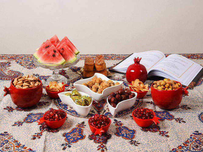 Yalda Night, Iranian celebration of longest night of year