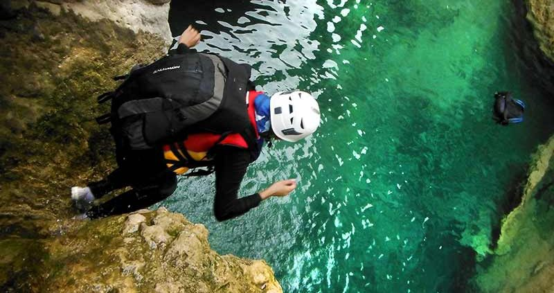Travel to Iran to experience canyoning