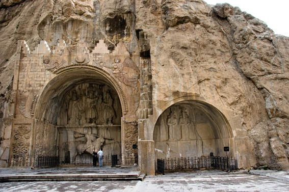 Taq-e Bostan, a Must-see on Traveling to Iran