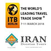 Iran Doostan Tours will attend ITB Berlin 2018