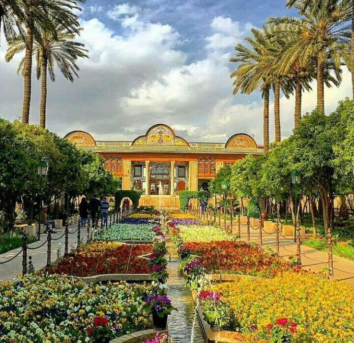 Narenjestan Garden or Qavam House in Shiraz
