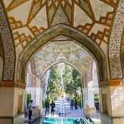 Fin Garden in Kashan, a great sample of Persian gardens
