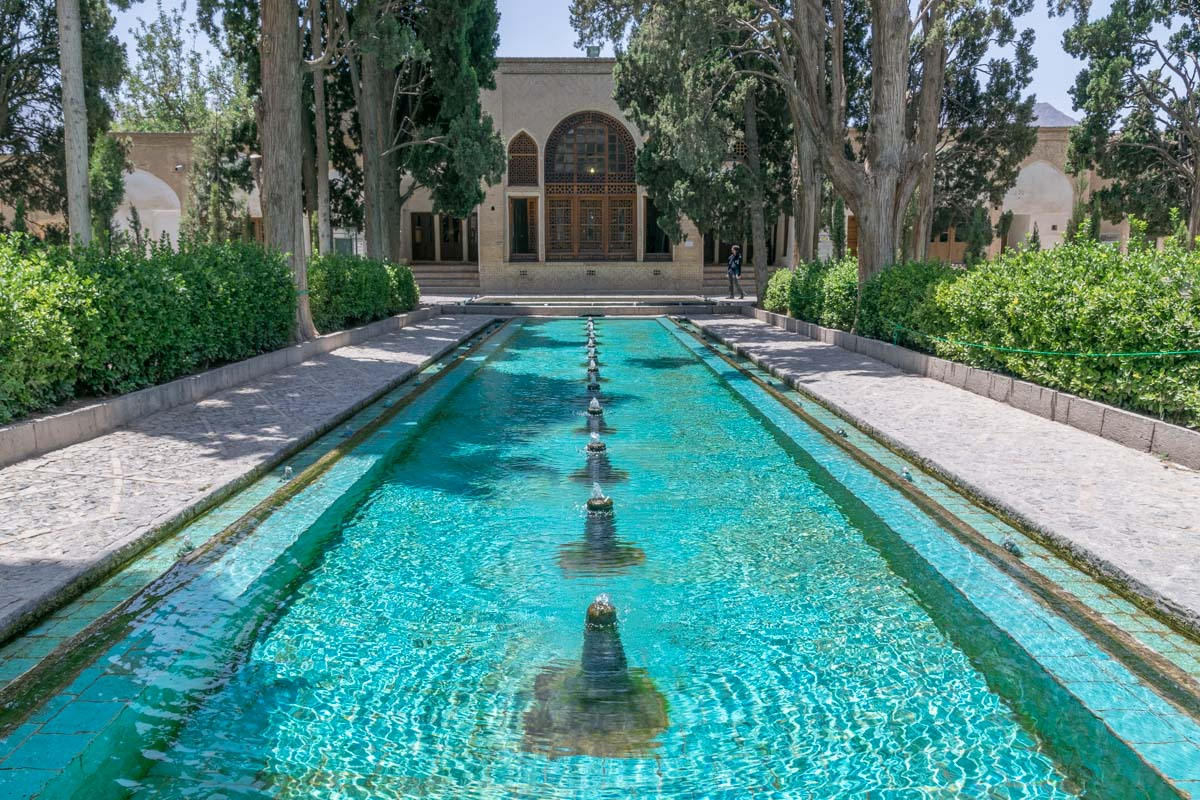 Fin Garden in Kashan, a great sample of Persian gardens