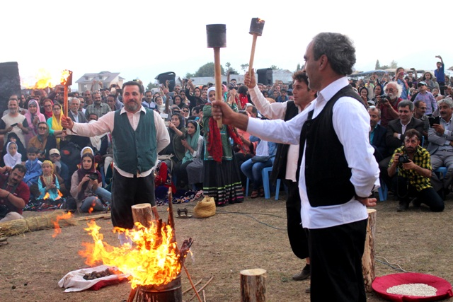Nowruzbal, the New Year in the North Part of Iran