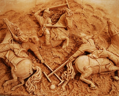Polo or Chogān, the UNESCO Intangible Cultural Heritage of Persia