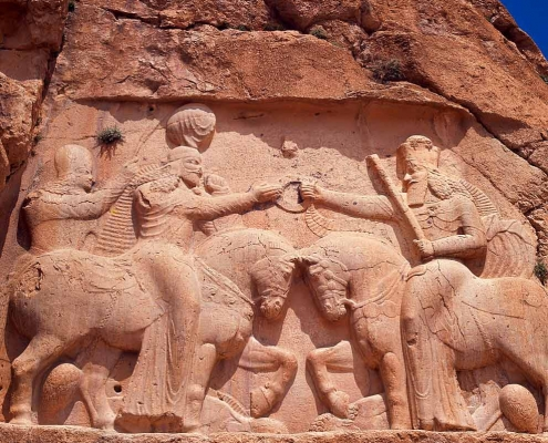 Achaemenid reliefs-travel to Iran