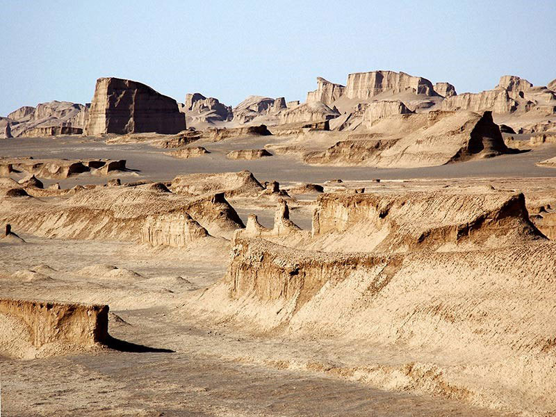 Iran travel guide - Iran deserts