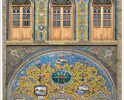 Golestan Palace, the only UNESCO Heritage Site in Tehran