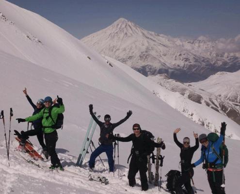 best ski resorts in Iran