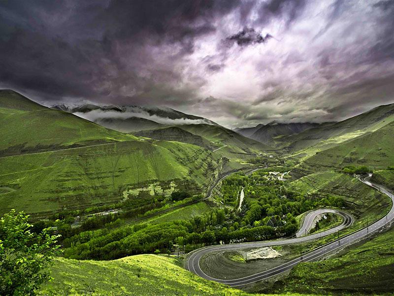 Iran's amazing landscapes