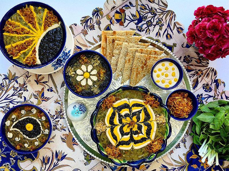 Ash Reshte-Iranian dish