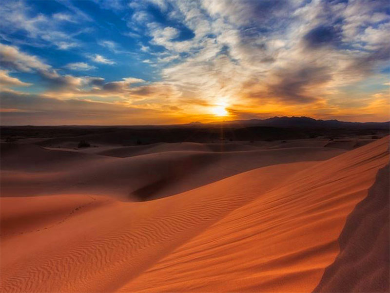 Iran deserts: Mesr