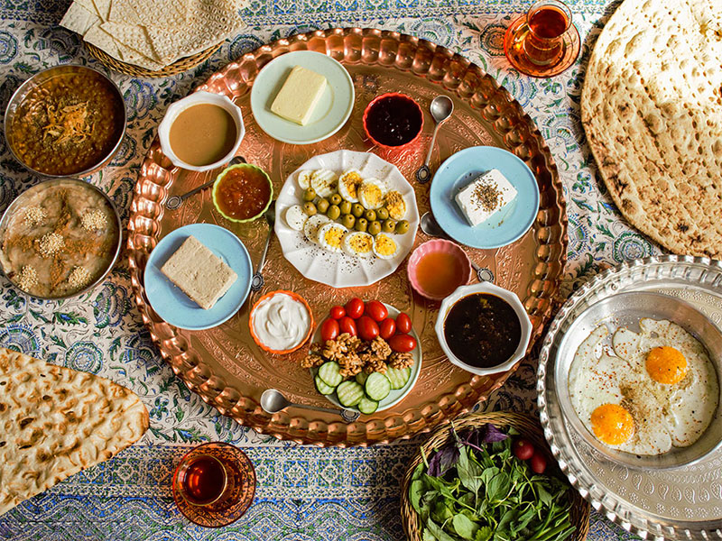 Persian-breakfast