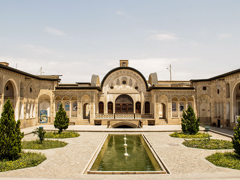 Iran's attractions: Tabatabae'i house