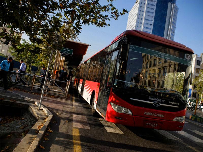 public transportation in Tehran