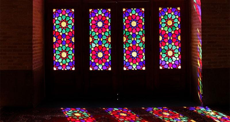 Pink mosque- Shiraz