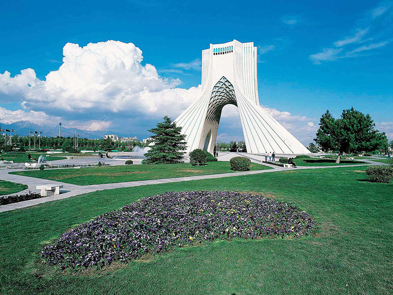 Azadi tower- Tehran tourist attractions