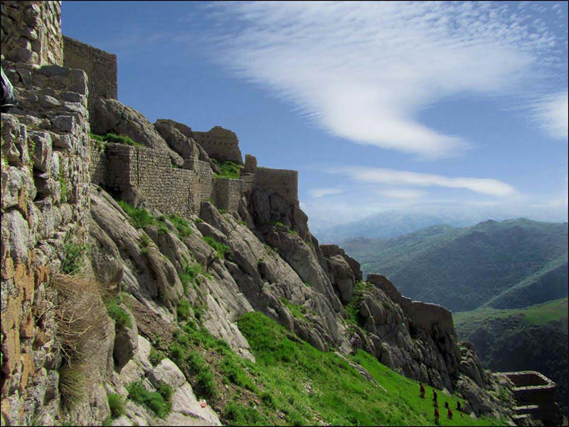 Babak Castle- Iran local attractions