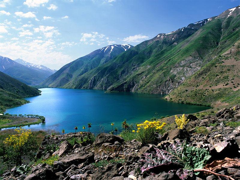 Gahar Lake- Iran