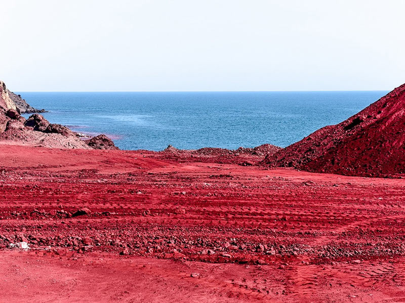 Hormuz Island- Red beach