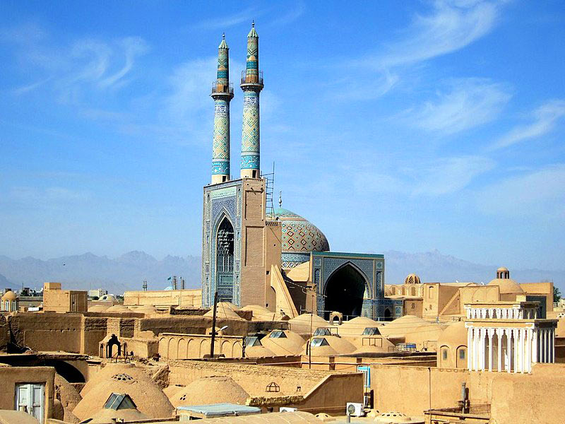 Top places to visit in Yazd: Jame Mosque
