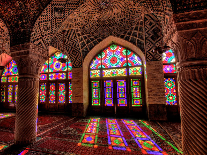 Pink-Mosque - Shiraz-Iran