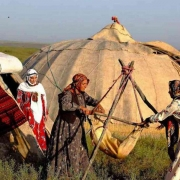 Shahsavan nomads in Iran