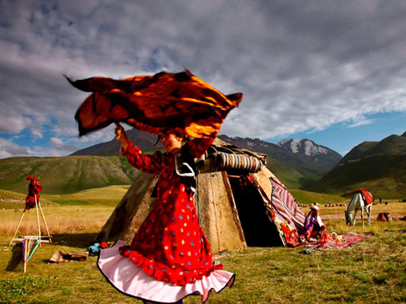 The Turkmen nomads