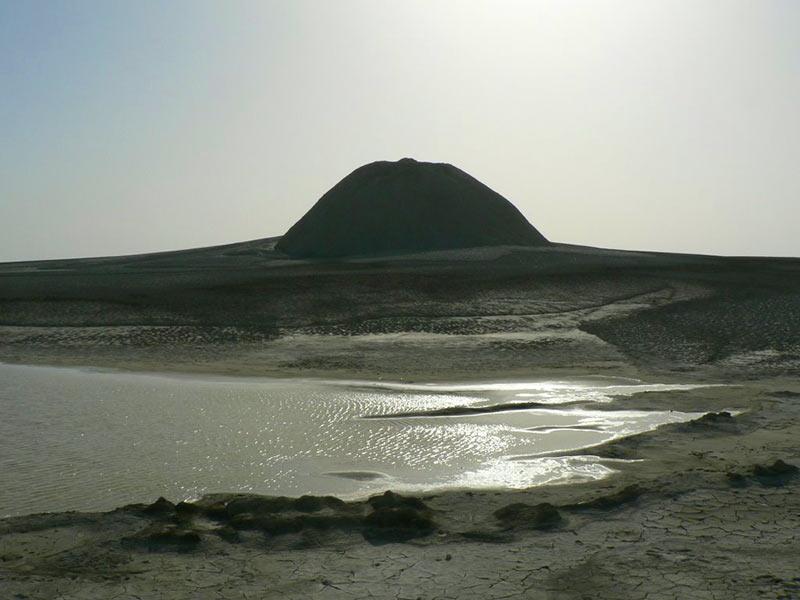 Mud Volcano - Gel-Afshan: Chabahar