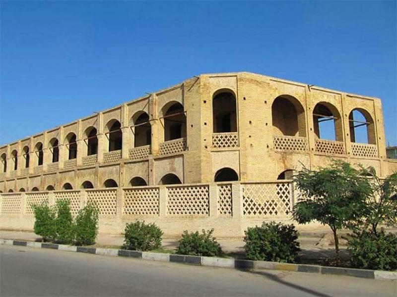 Moein-al Tojar caravanserai - Ahvaz