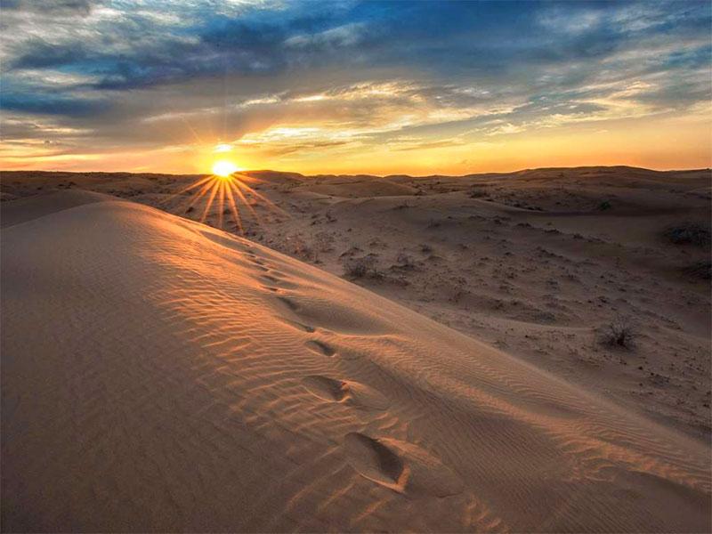 winter destinations in Iran - deserts