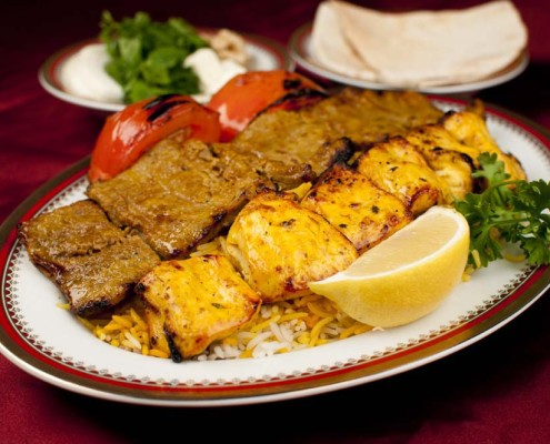 Kebab Berg (Phile Mignon), Jogeh Kebab (Pollo)