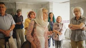 کمک 5 هزار یورویی گردشگران فرانسوی به منطقه زلزله زده کرمانشاه (2)